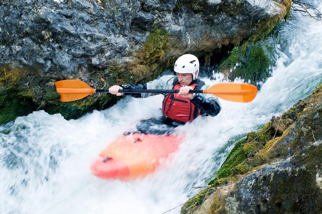 Male Kayaker