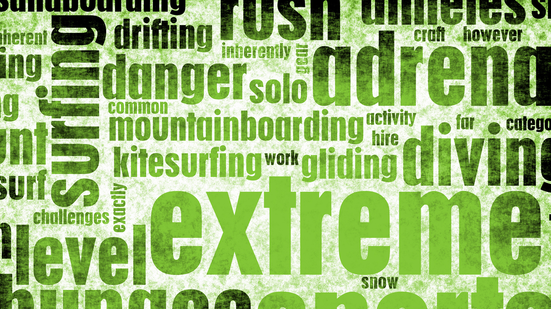 Extreme Text Green